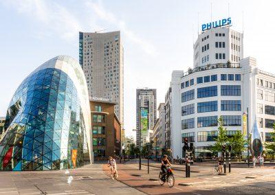 Binnenstad Eindhoven. Bron VisitBrabant.nl