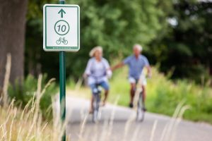 Fietsroutes, bron Routes in Brabant